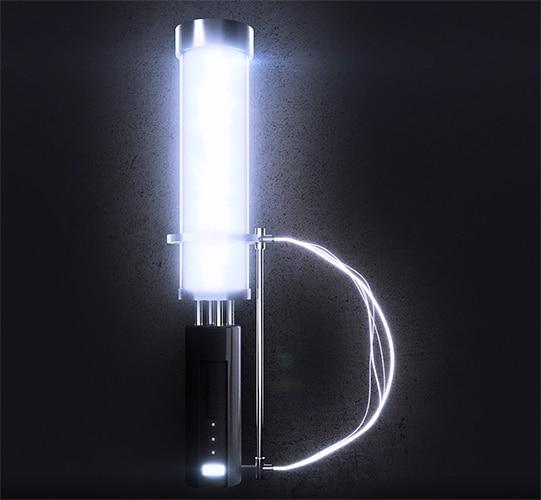 Glowing Battery