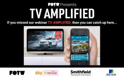 FOTW Presents: TV AMPLIFIED Webinar